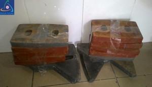 Bộ bàn tay trộn cối JS500 - trạm trộn bê tông 30m3/h