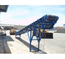 băng tải công nghiệp loại nghiêng cố định