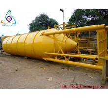 Silo vít tải 20 - 40 - 60 - 80 - 100 - 120 Tấn 1 - 4 cửa xả liệu chứa xi măng - bột đá - tro bay