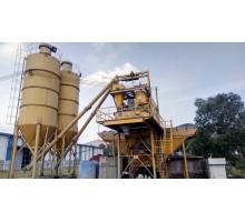 Bán Trạm trôn bê tông 60 cũ tại Quảng Trị - trạm IMI cối đứng 1,2 m3, 02 silo 60 tấn