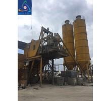 Trạm trộn bê tông cũ 60 m3/h miền Bắc - 02 silo 100 tấn
