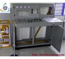 Thi công lắp đặt Tủ điện điều khiển tự động dùng PLC Siemens